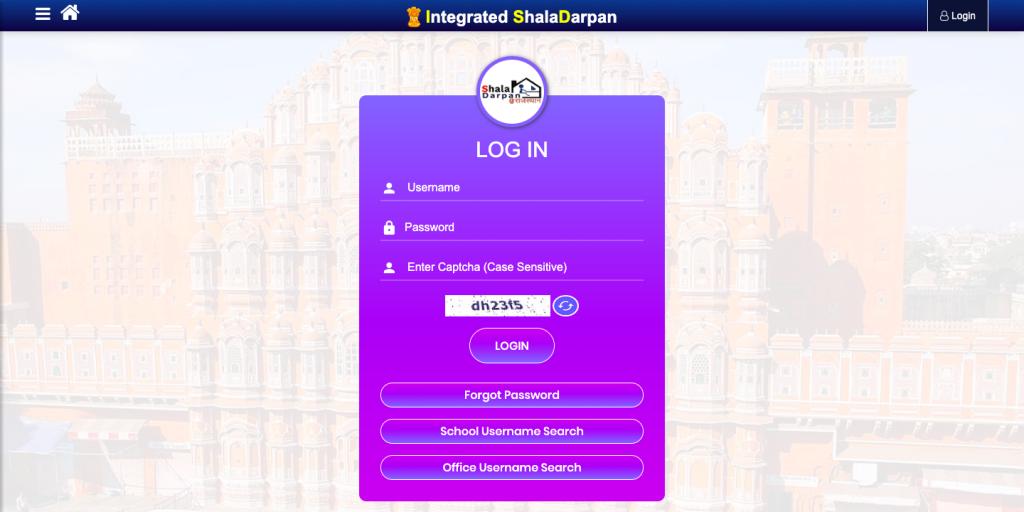Shala Darpan login link